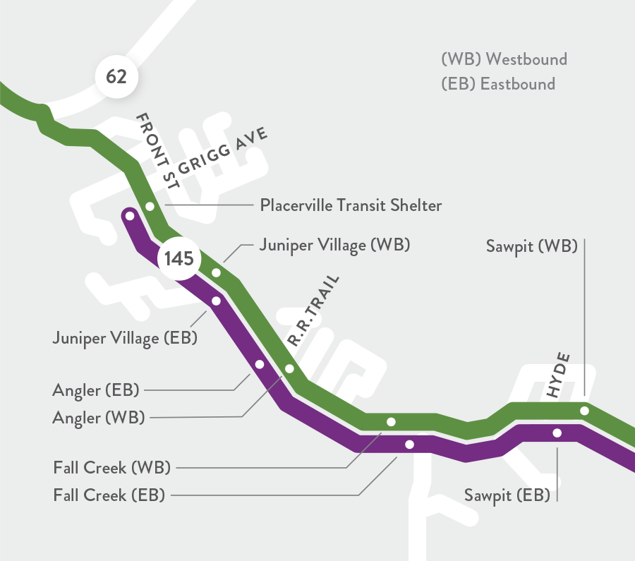 Norwood Route Map