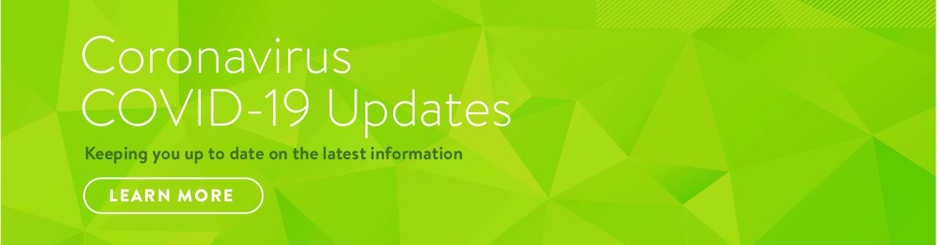 COVID-19 Update - Banner
